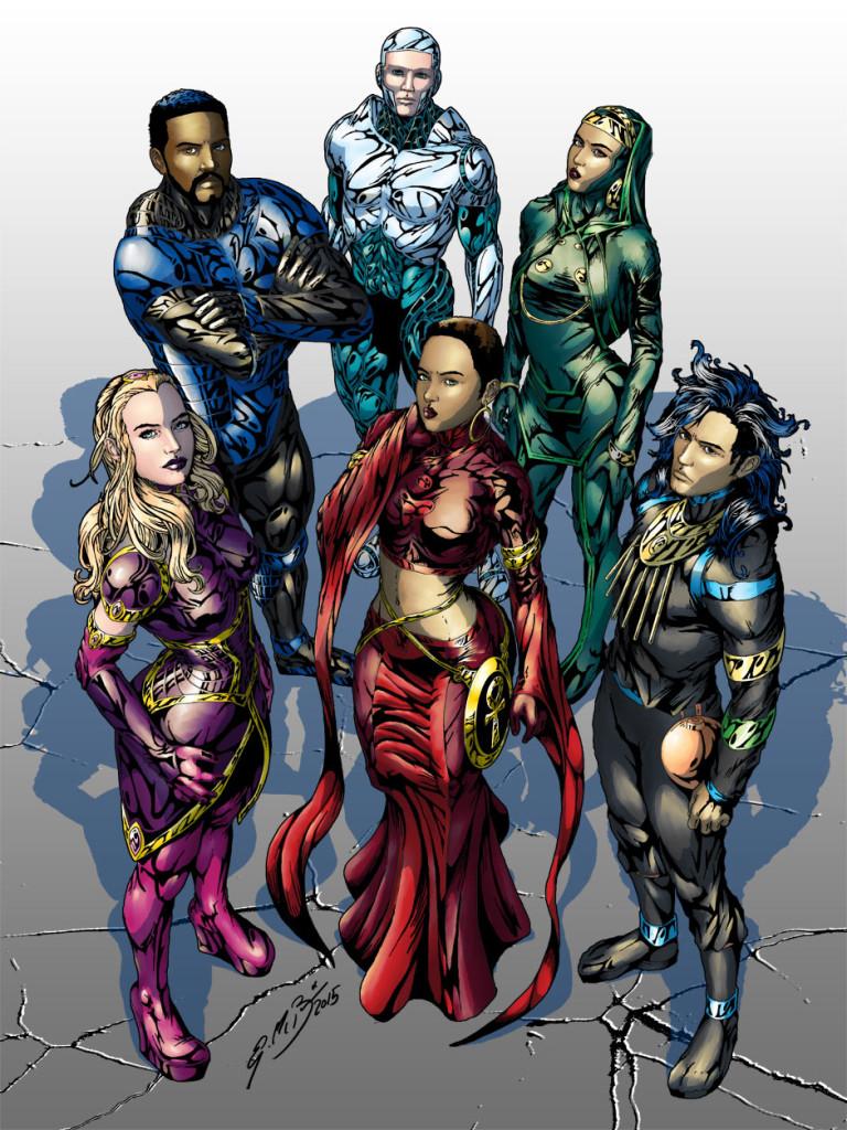 Celflux Team Poster