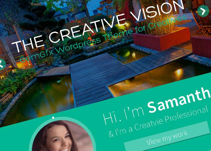 GemGfx Vision WordPress Them