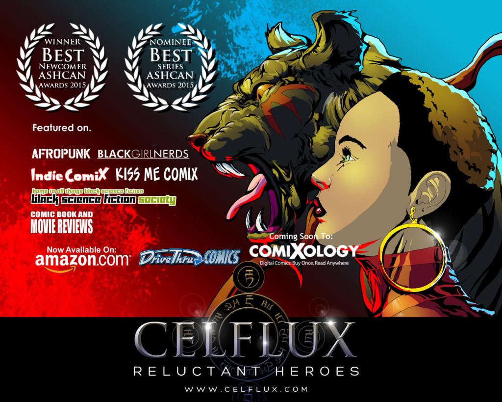 Celflux Wins Best Newcomer ASHCAN