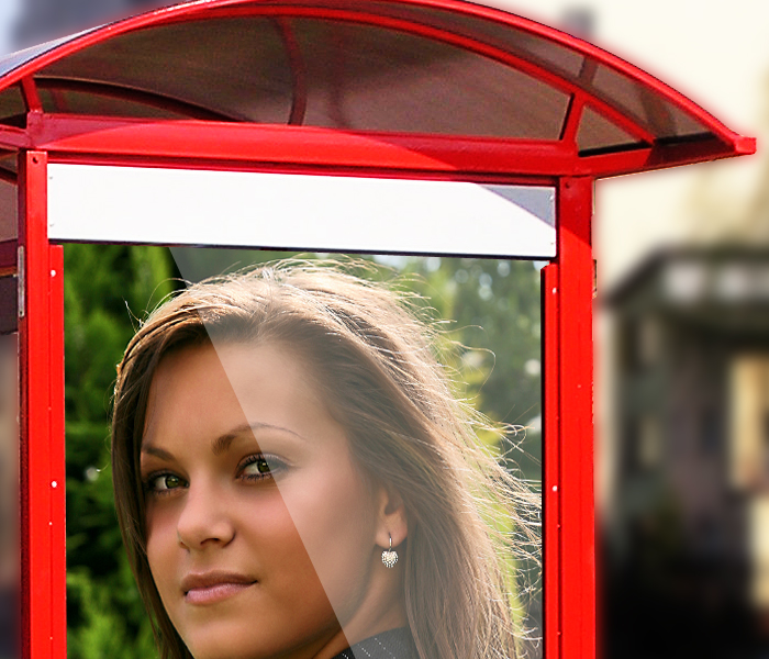 GemGfx Bus Stop Mockup