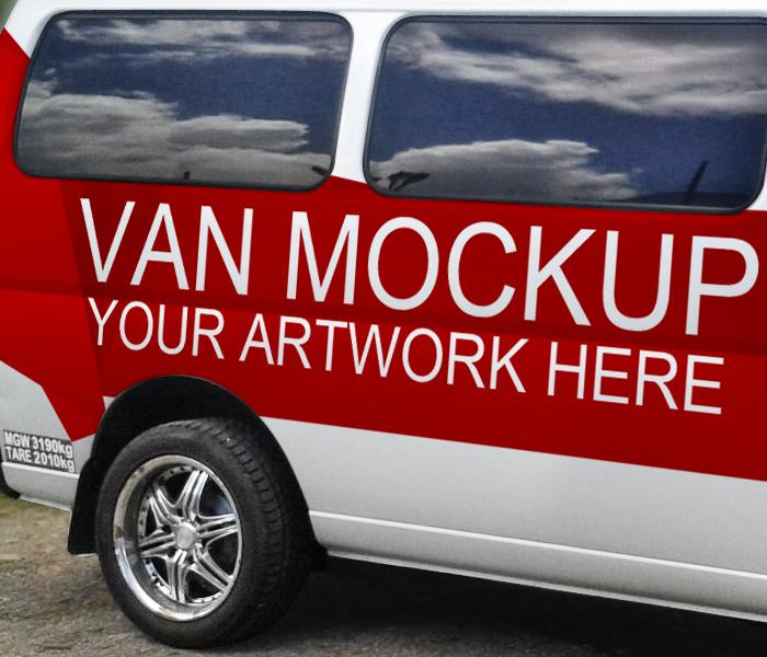 GemGfx Van Mockup