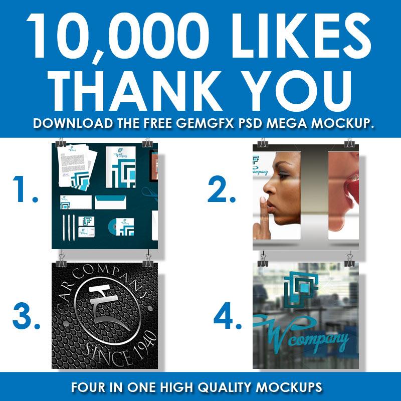 10, 000 Likes on Facebook