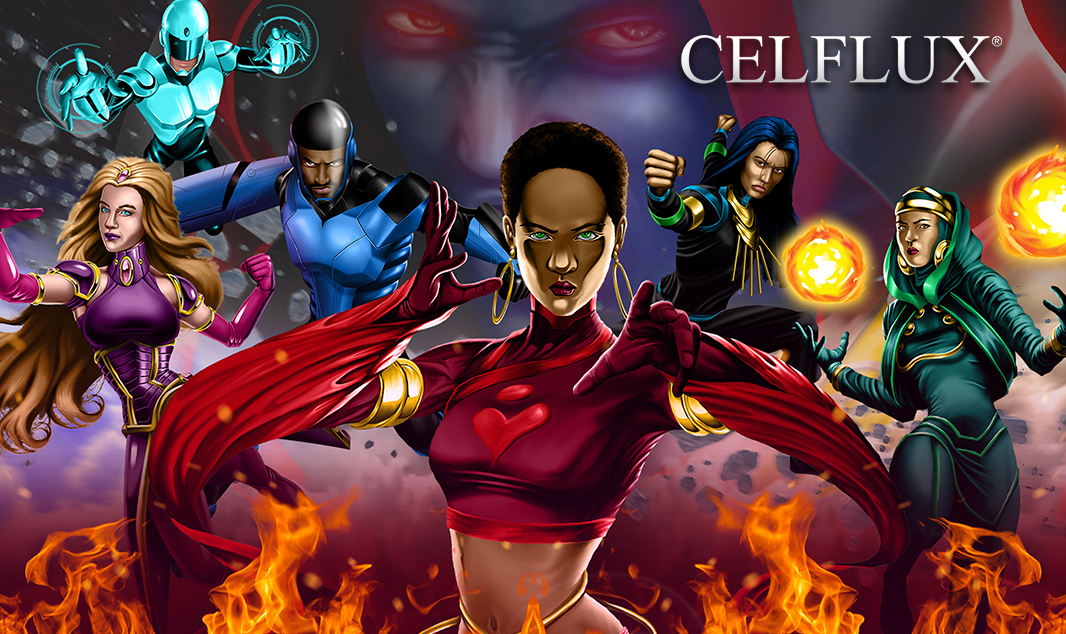 Celflux Graphic Novel and Animated Series